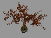 3d fantasy tree model