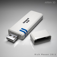3d model usb flash drive