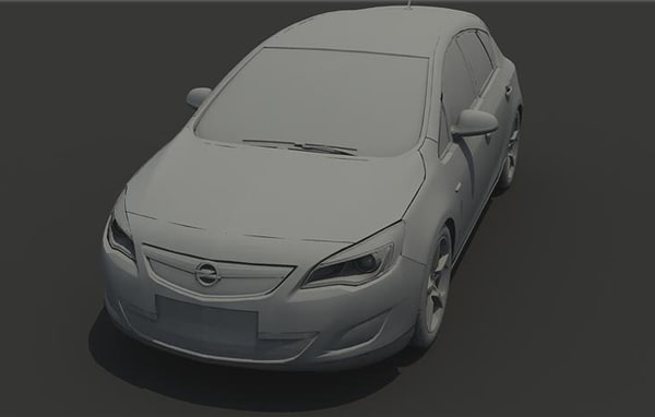 2010 opel astra 3ds