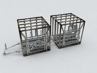3d model cage