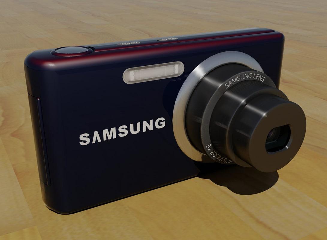 samsung digital camera 3d model