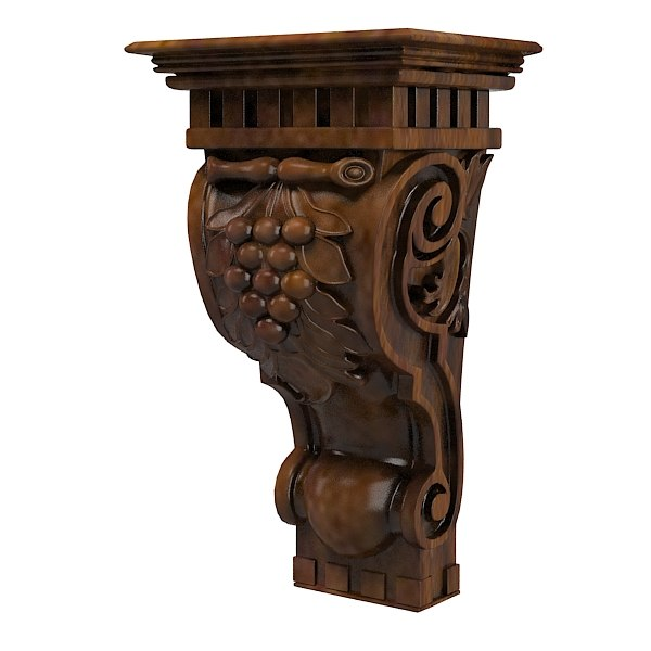 3d classic corbel traditional