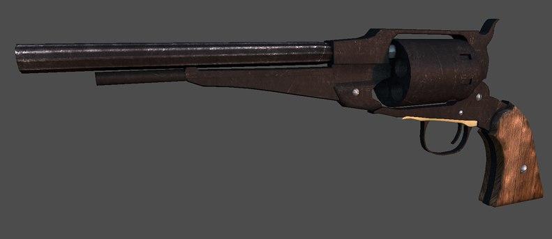 3d colt pistol
