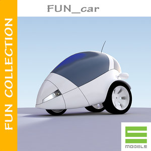3ds max small concept car