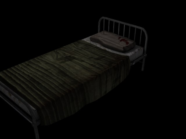3ds max hospital bed asylum