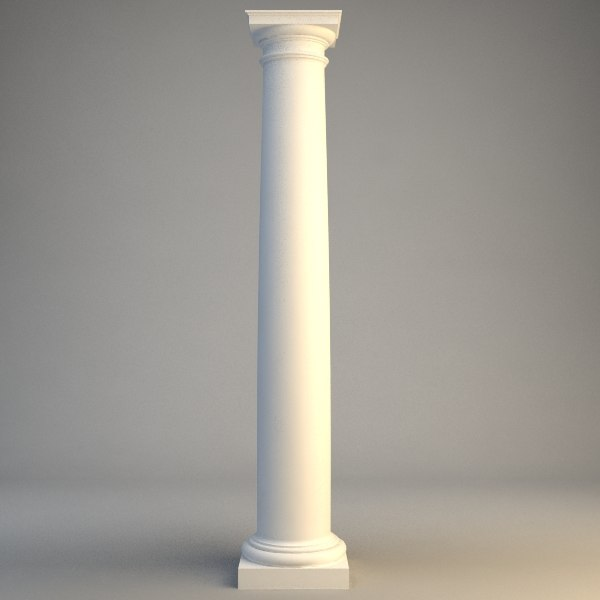 stone column 3ds