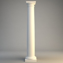 tuscan column 3D models
