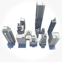 Low Poly Building Pack