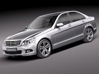 Mercedes C 300 2011 sedan USA midpoly