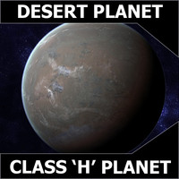 Desert Planet - Class H Planet