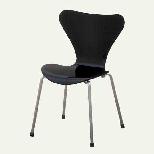 designed series chair 3d model