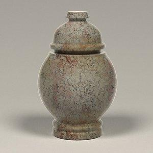 3d model funeral urn