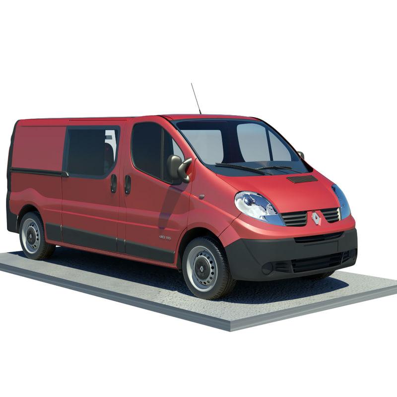 3d model renault trafic l2h1
