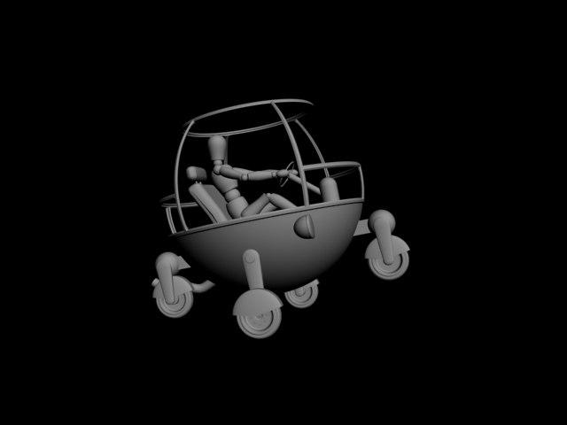 bubble car max
