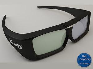 xpand universal glasses 3d ma