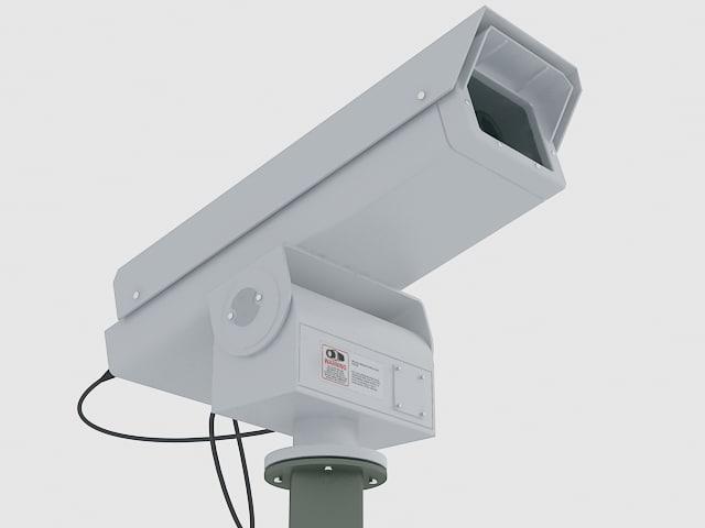 camera surveillance cam 3d max