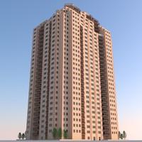 obj residential building