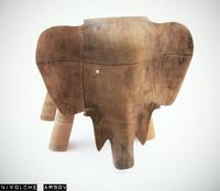 3ds max elephant deco