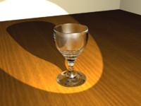 wine glass 3d max