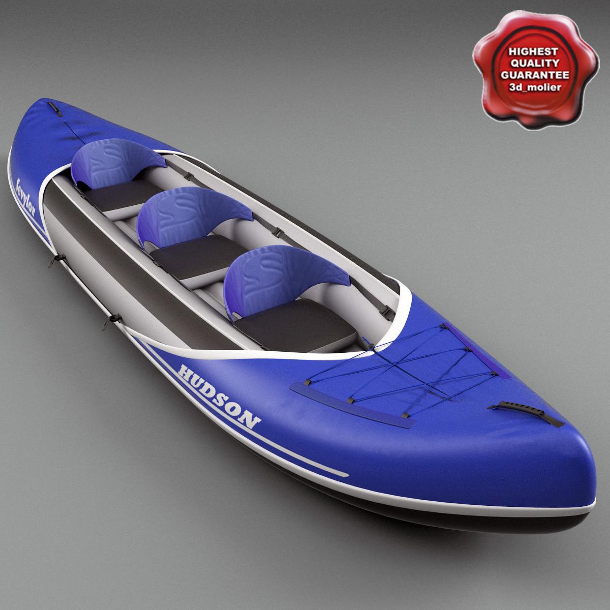 kayak sevylor hudson 3ds