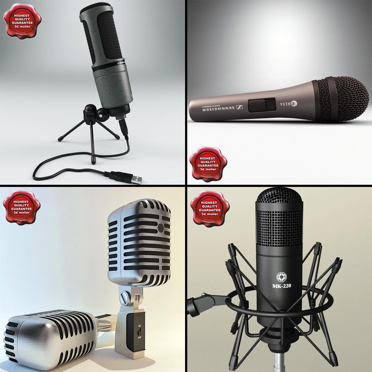 3d microphones condenser usb