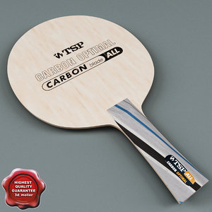 table tennis racket tsp 3d max