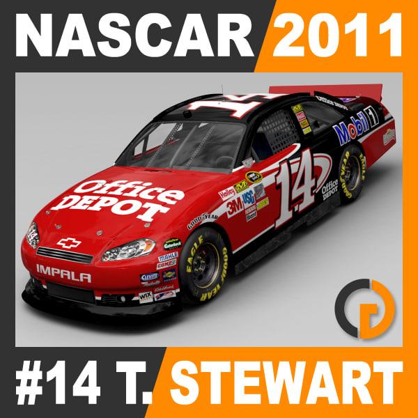 max nascar 2011 tony stewart