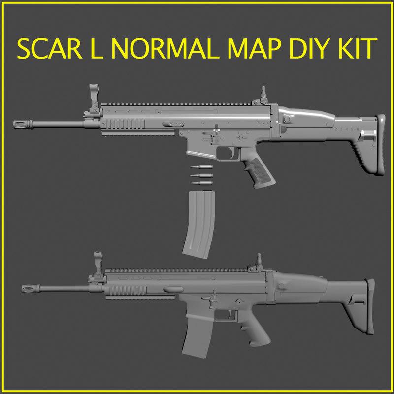 scar l kit diy 3d 3ds