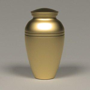 funeral urn 3d model