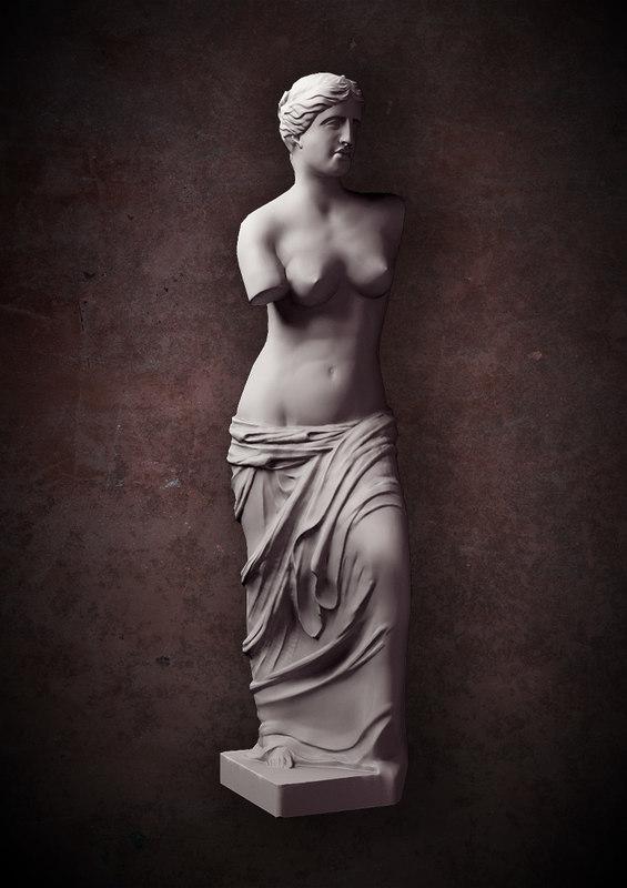 max venus milo statue