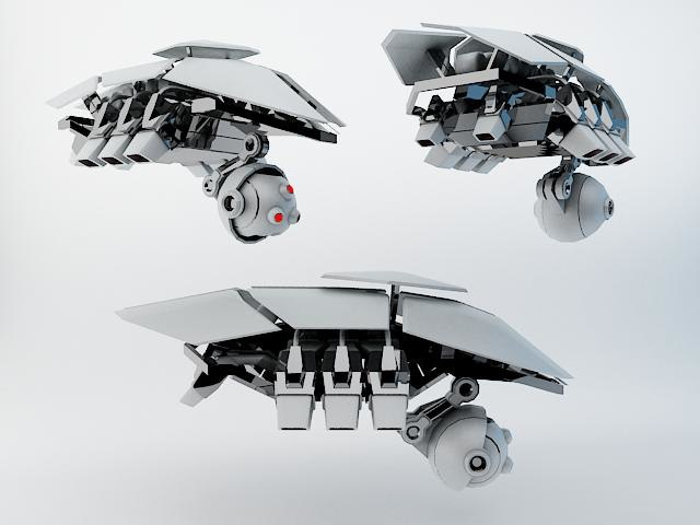 3d robot sxz200