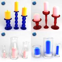 candles 01 3d model