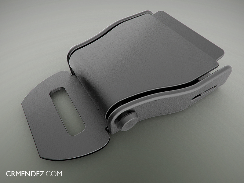 seat belt buckle amsafe 3ds