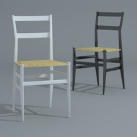 3d gio 699 superleggera dining chair