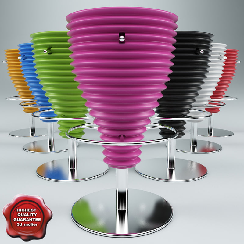 lightwave bongo bar stool