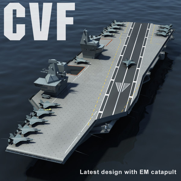 cvf aircraft carrier catapult max