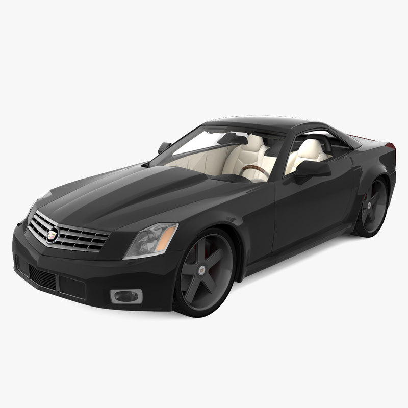 3d cadillac xlr 2010 model