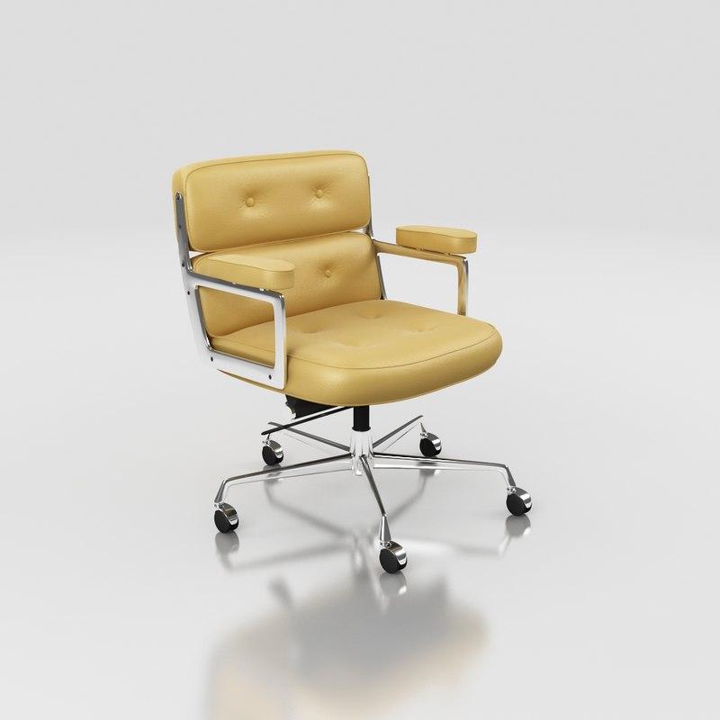 3dsmax eames lobby chair
