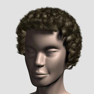 hair character mesh max