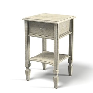 3d classic night stand model