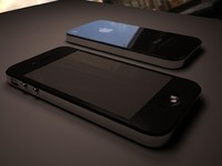 3d apple phone 4