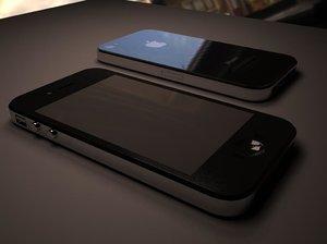 3d apple phone 4