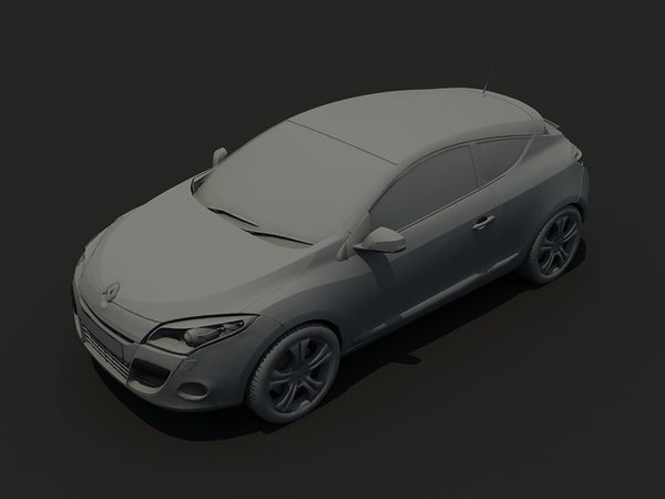 3d megane iii model