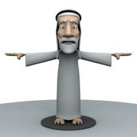 Old Arab Man