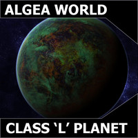 3d model class l planet earth