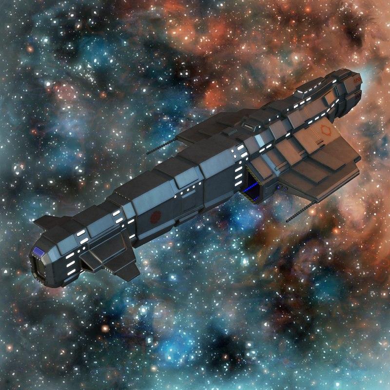 3d space cruiser 2