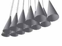 suspension artemide x