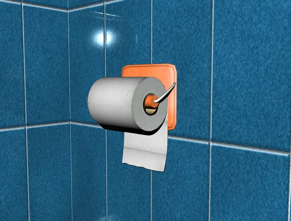 toilet paper roll 3ds