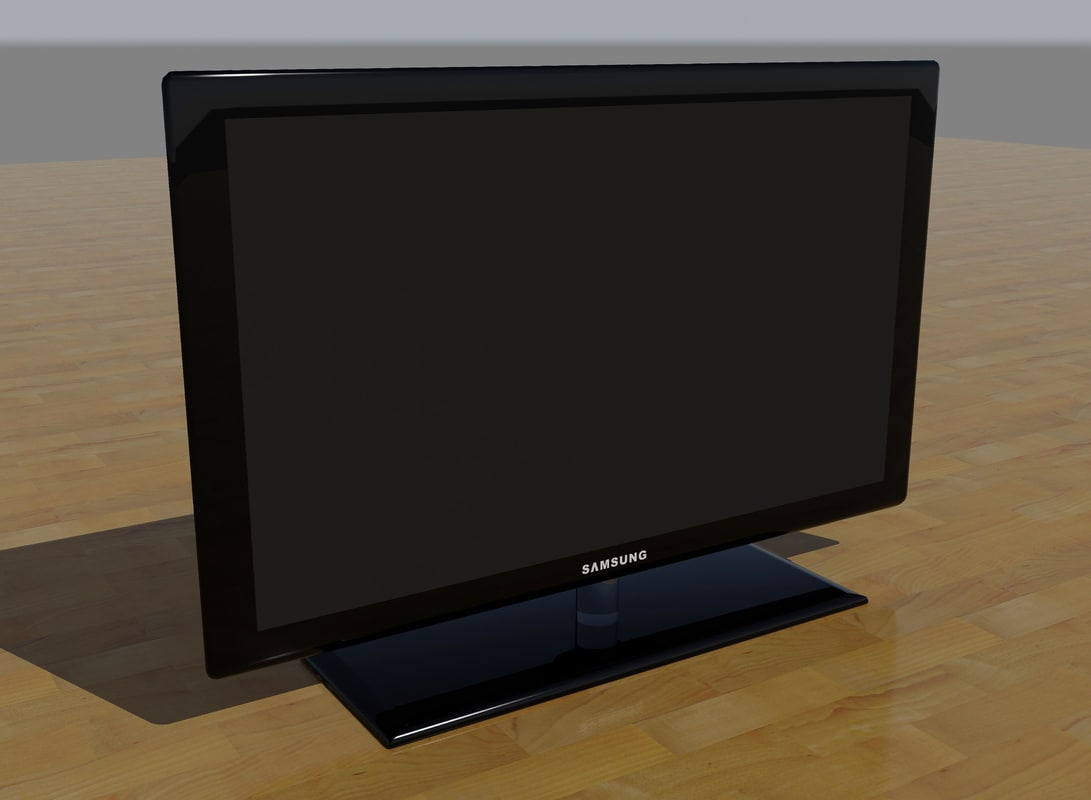 3d model lcd television
