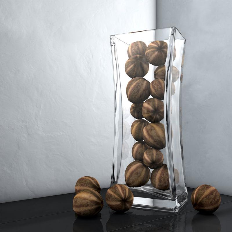 3d modeled decoration vase